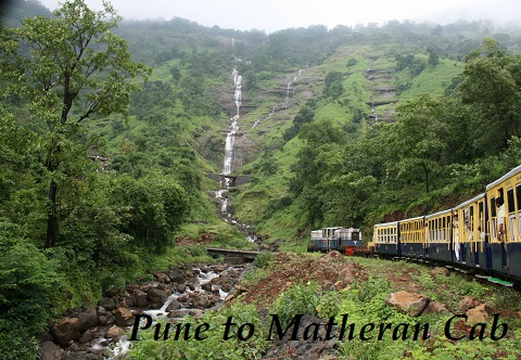 pune to matheran cab